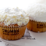Crumbs Bake Shop Coconut and White Chocolate cupcakes