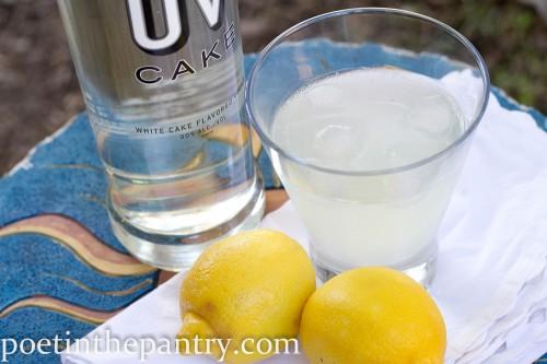 Coconut Lemon Cake Cocktail