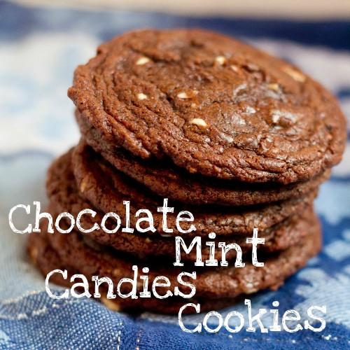 chocolate mint candies cookies