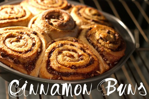 buns in the oven