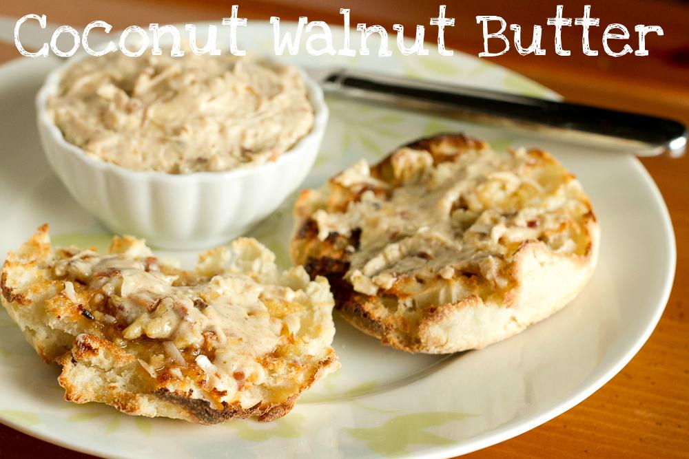coconut walnut butter