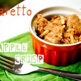 amaretto apple crisp