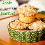 apple buttermilk muffins