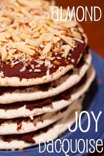almond joy dacquoise