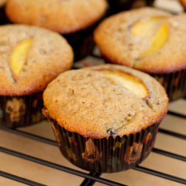 Chunky Peach Muffins