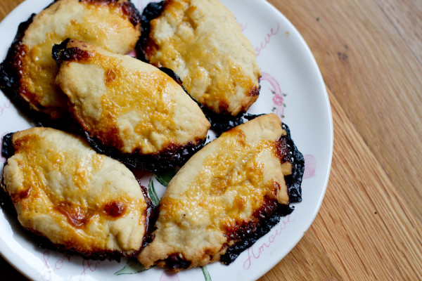 pineapple coconut empanadas