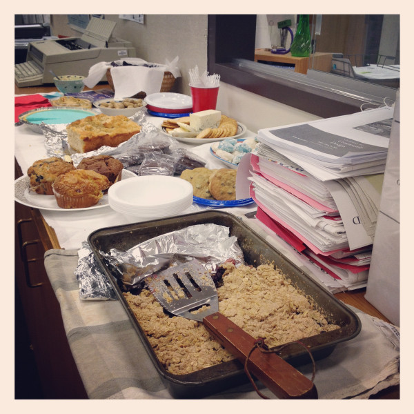 blue moon party food