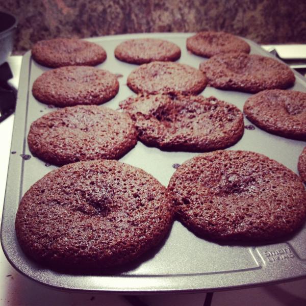 Gingerbread Cupcakes - fail!
