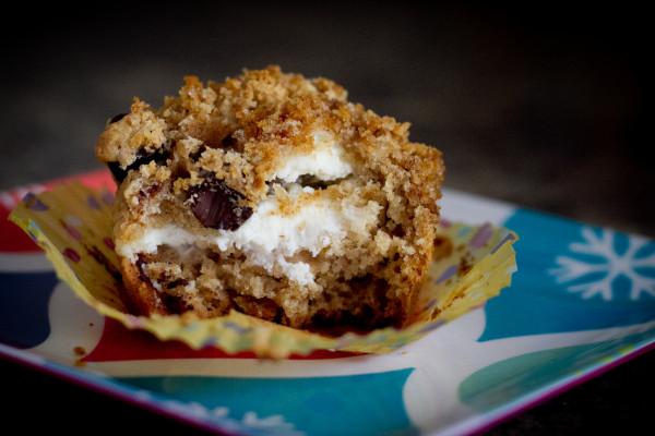Graham Cracker Cheesecake Muffin