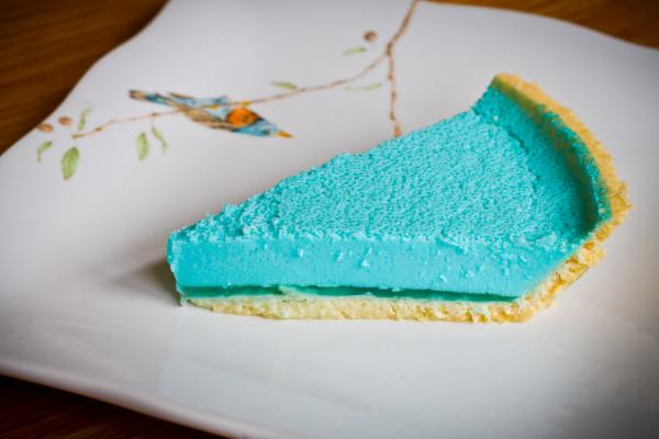 berry blue jello mousse pie