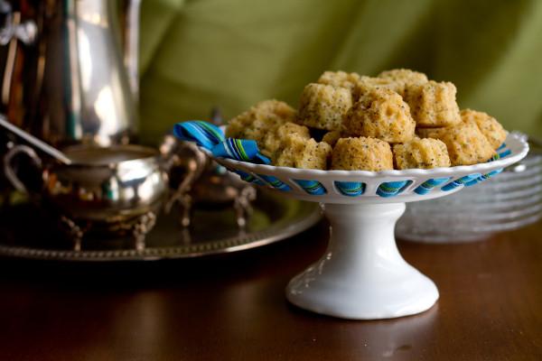 Lemon Poppy Seed Mini Muffins