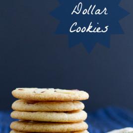 Sand Dollar Cookies - poetinthepantry.com