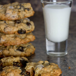Chocolate Chip Oatmeal Raisin Cookies