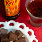 Kahlua Pumpkin Spice Fudge and Martini - poet in the pantry