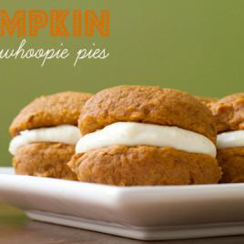 Pumpkin Whoopie Pies - poet in the pantry