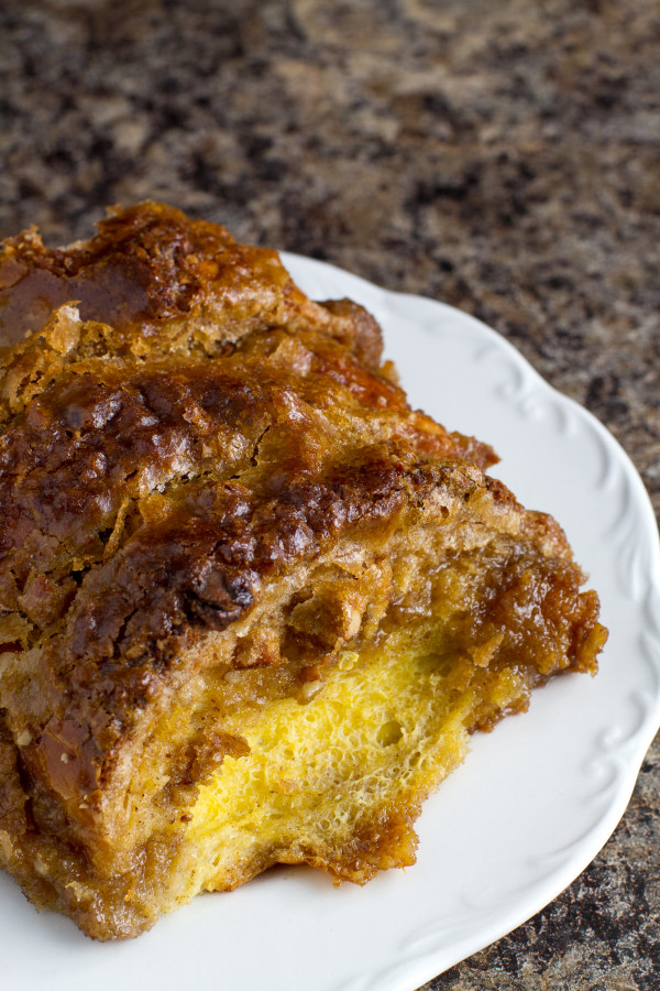 Sugar-Crusted French Toast Casserole