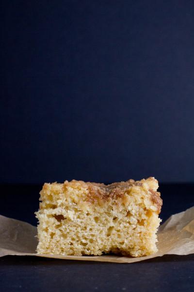Whole Grain Streusel Coffee Cake