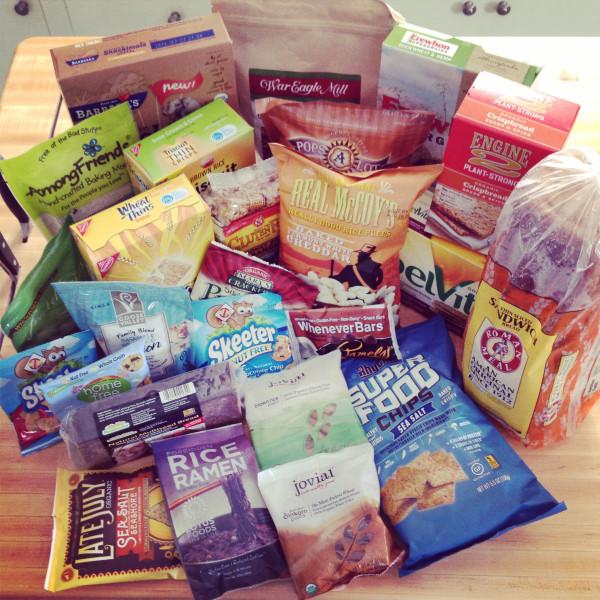 Whole Grain Sampling Day gift box