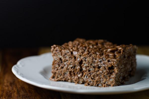 Nutella Cocoa Krispie Treats - poet in the pantry