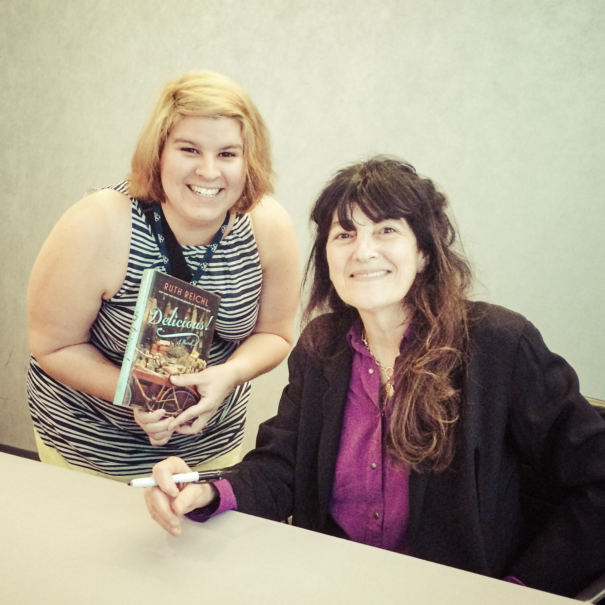 me and Ruth Reichl