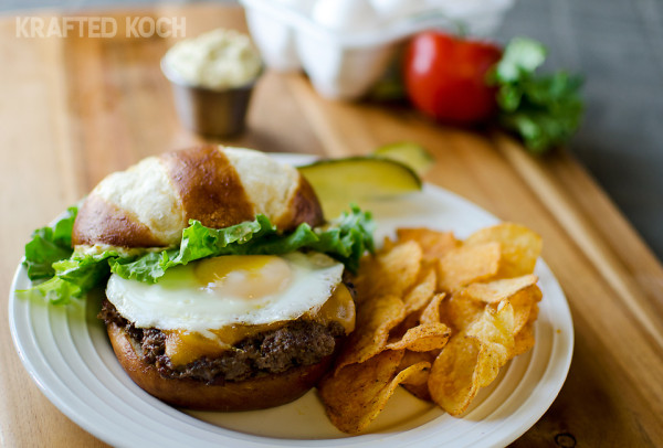 Best of the Farm Burger - Krafted Koch