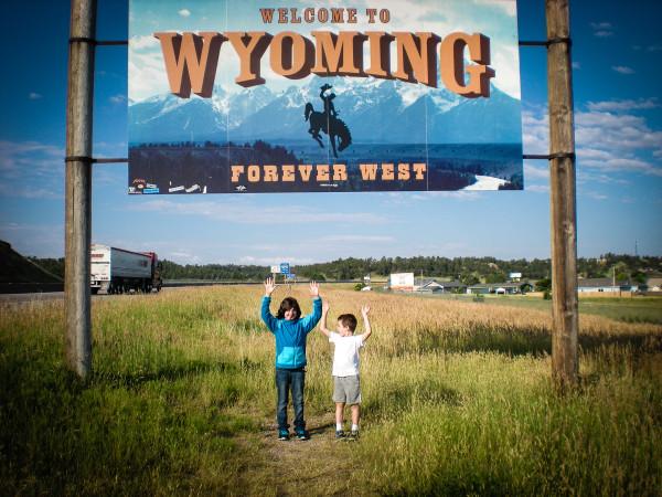 kids in Wyoming