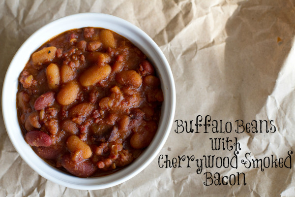 Buffalo Beans with Cherrywood Smoked Bacon - Poet in the Pantry