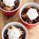 Cherry Blueberry Crumble - Poet in the Pantry