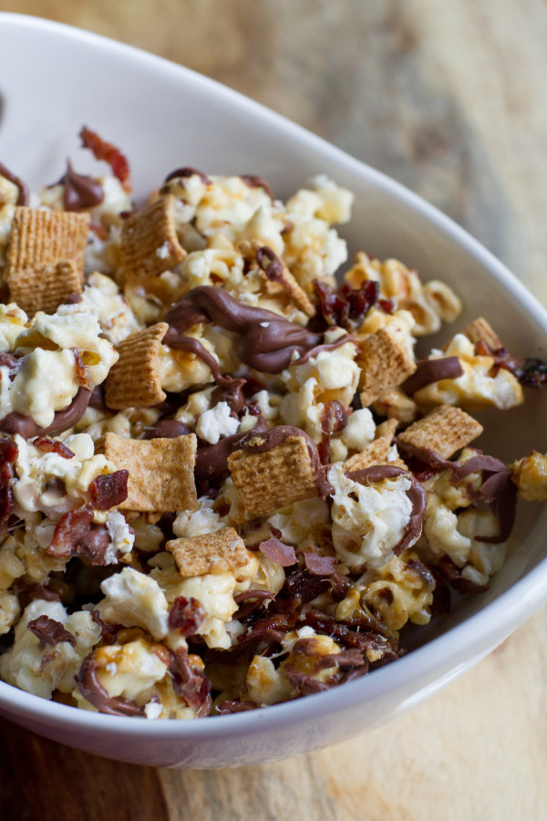 Bacon S'Mores Popcorn - poet in the pantry