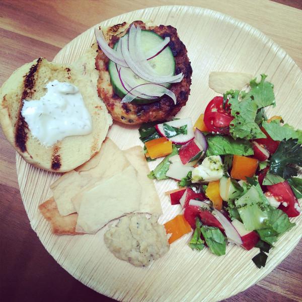 tasting lunch - Poet in the Pantry