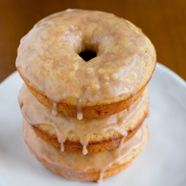 Spiced Glazed Donuts - Poet in the Pantry