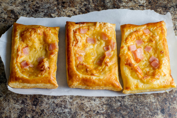 Canadian Bacon and Cheese Savory Squares - Poet in the Pantry