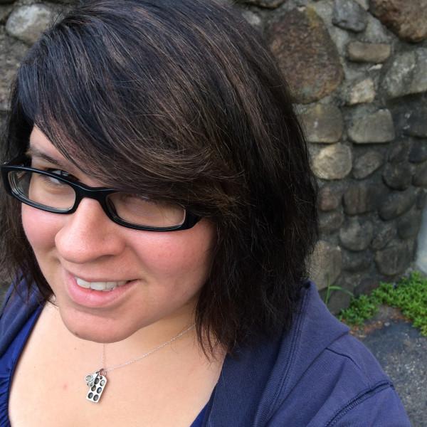 splotchy dark hair - Poet in the Pantry