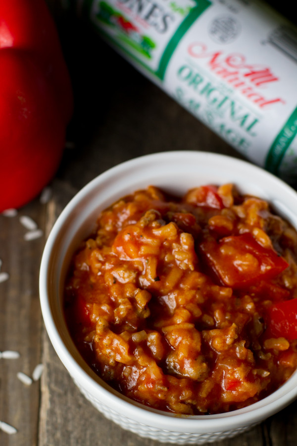 Sausage Stuffed Pepper Soup - Poet in the Pantry