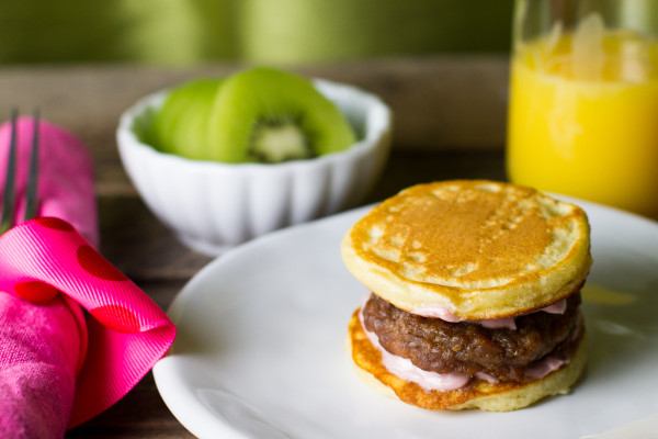 Sausage Pancake Sandwiches - Poet in the Pantry