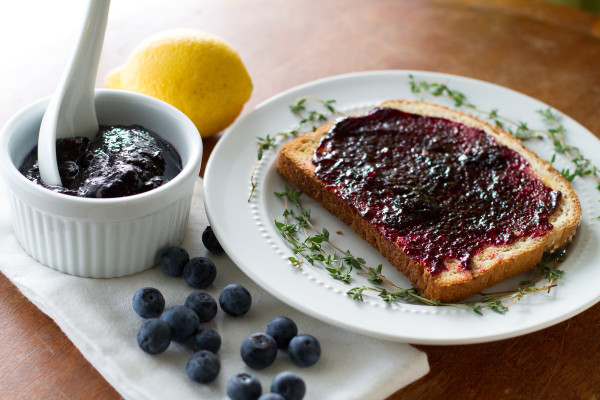 Blueberry Thyme Preserves - Poet in the Pantry