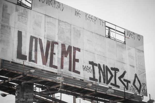 Graffiti - Poet in the Pantry