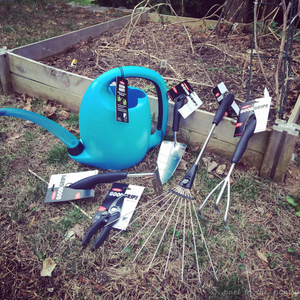 OXO Gardening Tools save the day!
