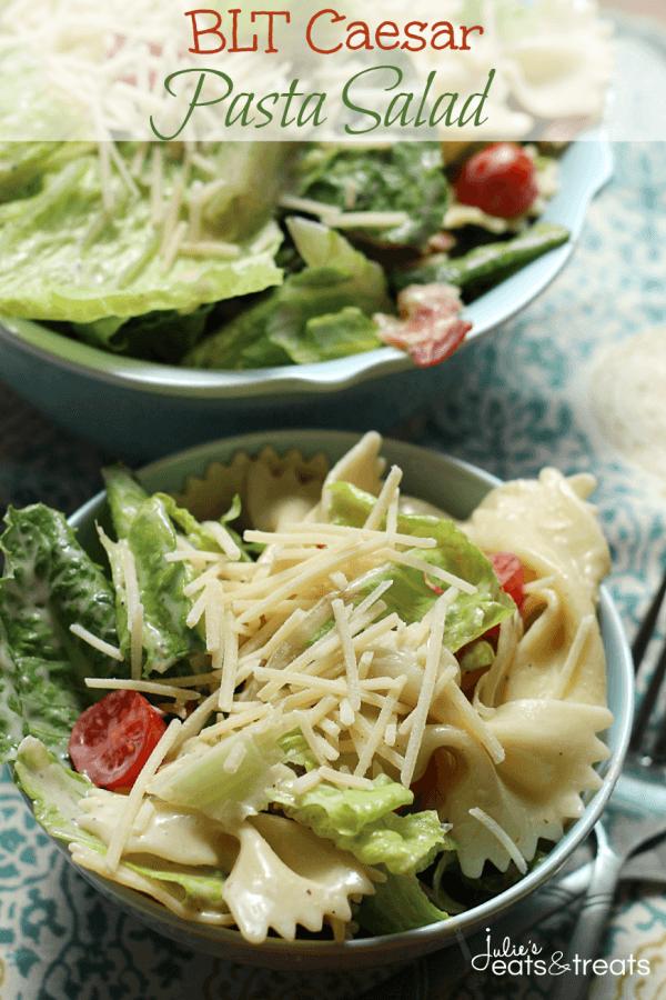 BLT Pasta Salad from Julie's Eats & Treats