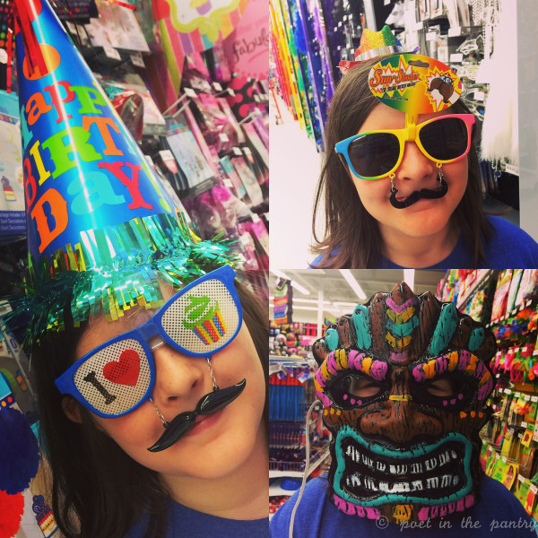 I was never big on planning birthday parties, but when you step foot in a place like Party City, it's hard not to get into the spirit of things!