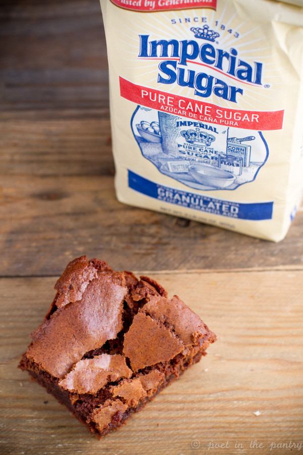 Spicy Brownies for #Choctoberfest 2015 with Imperial Sugar awaken your senses while soothing your soul.