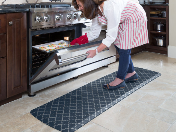 GelPro Comfort Mats make your time in the kitchen so much more comfortable!