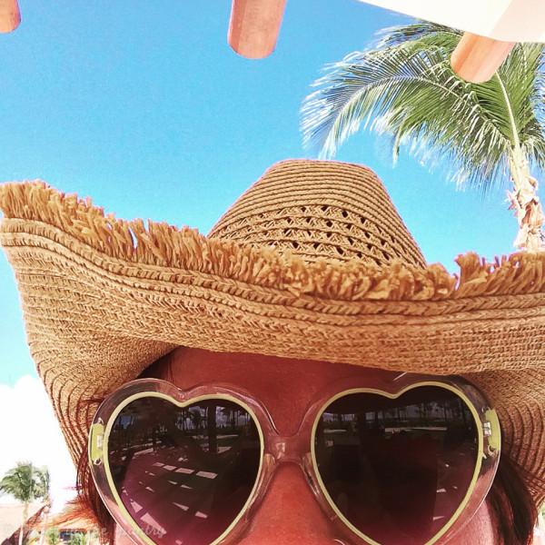 Having a little fun in the sun at Barceló Maya Beach Resort in Mexico