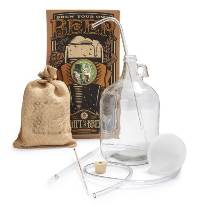 With the Craft a Brew Irish Stout Beer Making Kit , you can brew your own beer!