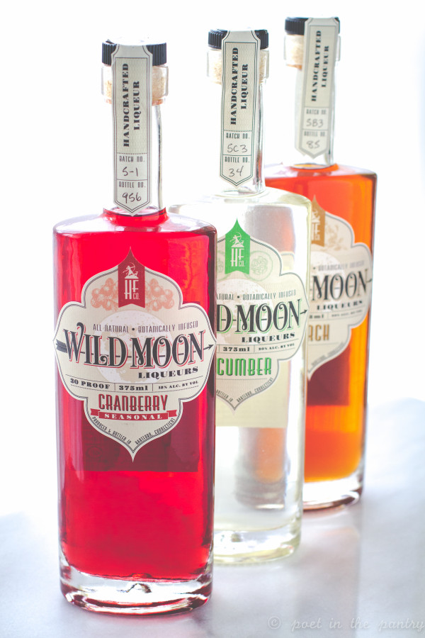 Wild Moon is a line of botanical liqueurs from the Hartford Flavor Company in Hartford, Connecticut. They are all natural, non-GMO, and gluten-free!