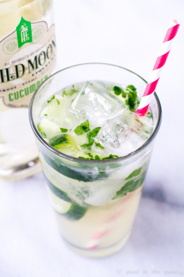 Cool As A Cucumber is a cocktail utilizing Wild Moon Cucumber liqueur. Wild Moon is a line of botanical liqueurs from the Hartford Flavor Company in Hartford, Connecticut. They are all natural, non-GMO, and gluten-free!