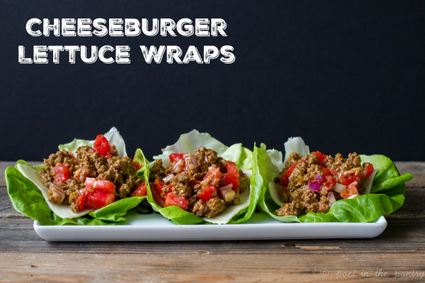Cheeseburger Lettuce Wraps are a quick weeknight dinner that will keep the whole family happy!
