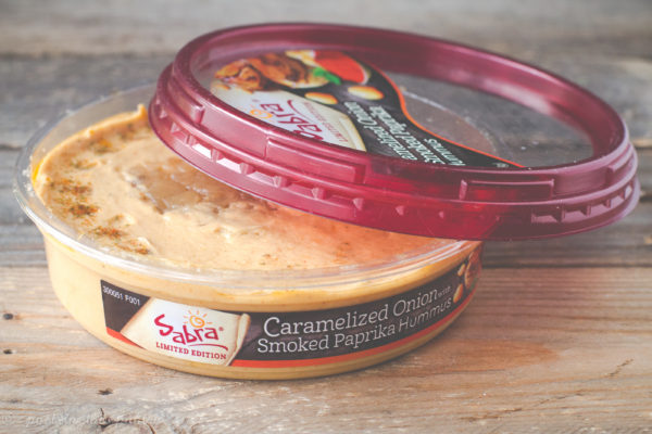 Sabra's Caramelized Onion with Smoked Paprika Hummus may just be my favorite flavor {sponsored post}