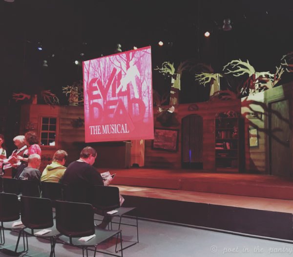 EVIL DEAD: THE MUSICAL is worth catching at The Warner Theatre in Torrington, Connecticut. The expanded splatter zone makes things...interesting.