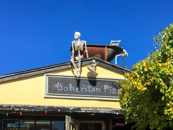 Bohemian Pizza in Litchfield, Connecticut is a hidden gem! Great pizza, good beer, and a totally unique atmosphere!